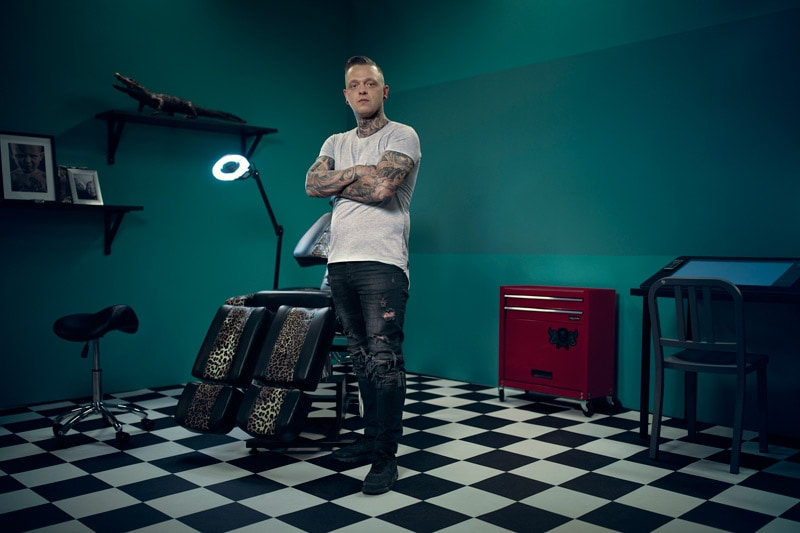 Lees meer over JM Tattoo in Ink Master