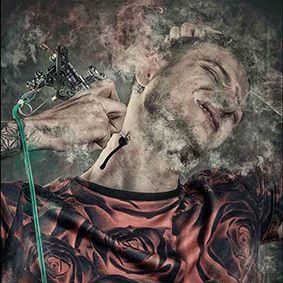 Tattoo artiest Stefan