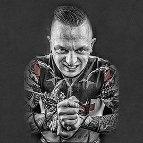 Tattoo artiest Michael